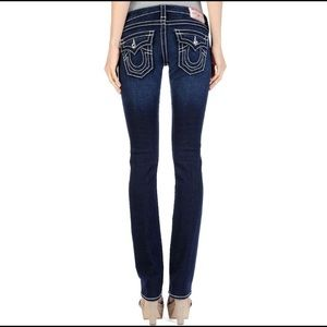 True Religion Disco Billy Big T Straight Leg Jeans